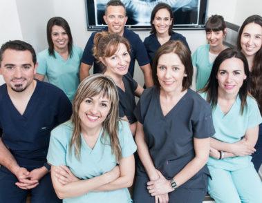 Fotografía del personal de Klinik, Centro Médico y dental. Vitoria