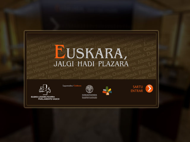 Visita Virtual 360º- Euskara, Jalgi Hadi Plazara