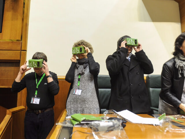 Visita Virtual Versión VR al Parlamento Vasco